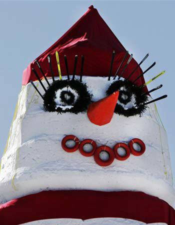 snow-face