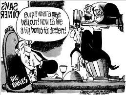 big banks bailout cartoon